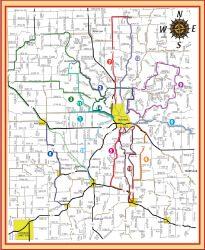Trail Maps Decorah Park Amp Recreation Department