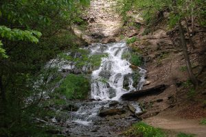 spring fed waterfall