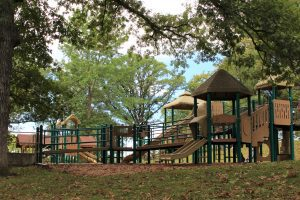 Picture of Phelps Park upper playground equipment