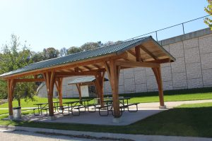 Trailhead Shelter by Hwy 9 Bridge