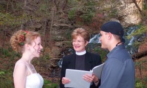 Picture of a Wedding at Dunning's Spring