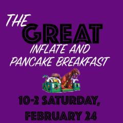 The Great Inflate & Pancake Breakfast – Sat, Feb 24