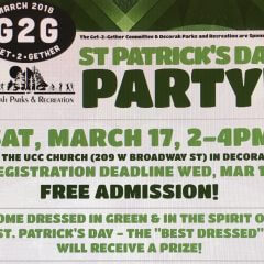 G2G St. Patrick's Day Party