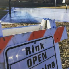 Ice Rink opens at 1 pm Thursday