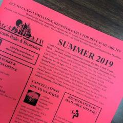 Online Summer Registration extended to midnight on June 2