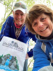 Selfie on Decorah Trail
