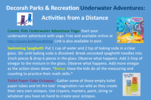 List of activities for kids