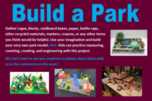 Challenging youth to build a park model