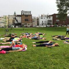 Free Saturday Yoga in the Park