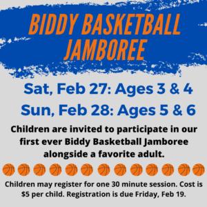 Biddy Basketball Jamboree